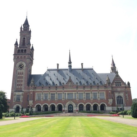 The Peace Palace and its grounds