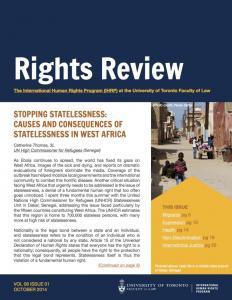 Rights Review Volume 8