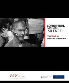 Cover of Corruption, Impunity, Silence Report