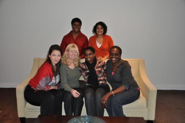 Pictures from strategy meeting with the IHRP Director, clinic student (Morgan Sim), and Equality Effect partners.