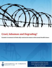 Cover of Cruel, Inhuman and Degrading? Report