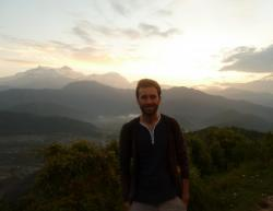 Photo of Ben Liston in Nepal 2011