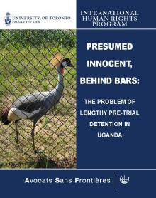 Cover of Presumed Innocent Report
