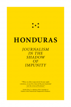 Cover page of report Honduras: Journalism in the Shadow of Impunity